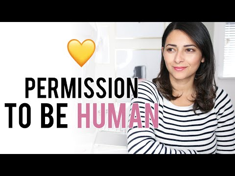PERMISSION TO BE HUMAN  Mindful Motherhood  Ysis Lorenna