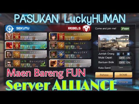 Main FUN with My Team LuckyHUMAN server ALLIANCE - CRISIS ACTION