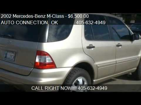 2002 Mercedes Benz M Class ML320   For Sale In OKLAHOMA CITY