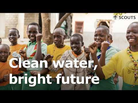 Clean water, bright future: How a single project benefits thousands in South Sudan / Messengers Of Peace / #ScoutsSouthSudan / #SDG6