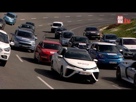 Test Elektroautos