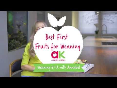 Annabel Karmel Best Fruits To Start Weaning