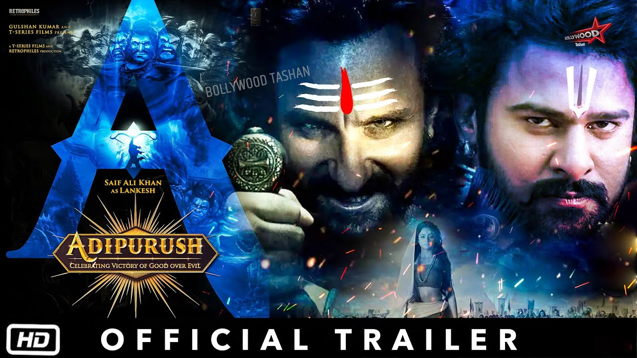 Adipurush - Official Trailer | Prabhas | Saif Ali Khan | Om Raut | Adi purush First Look - YouTube