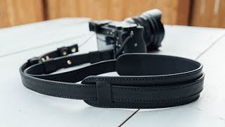Making a Leather Camera Strap