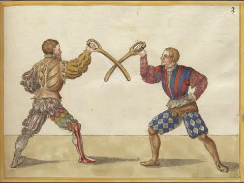 Paulus Hector Mair - Historical #Dussack Fencing Play No.3 - HEMA
