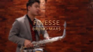 Finesse - Bruno Mars (Saxophone Cover)