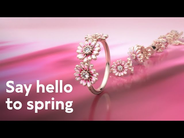 Pandora Garden: welcome spring with daisy-inspired jewellery ...