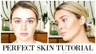 PERFECT SKIN MAKEUP TUTORIAL 💫 | In Depth & Talk Through | allanaramaa