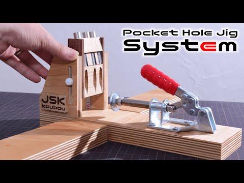 Amazing!! Pocket Hole Jig System
