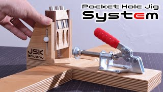 Amazing!! Pocket Hole Jig System