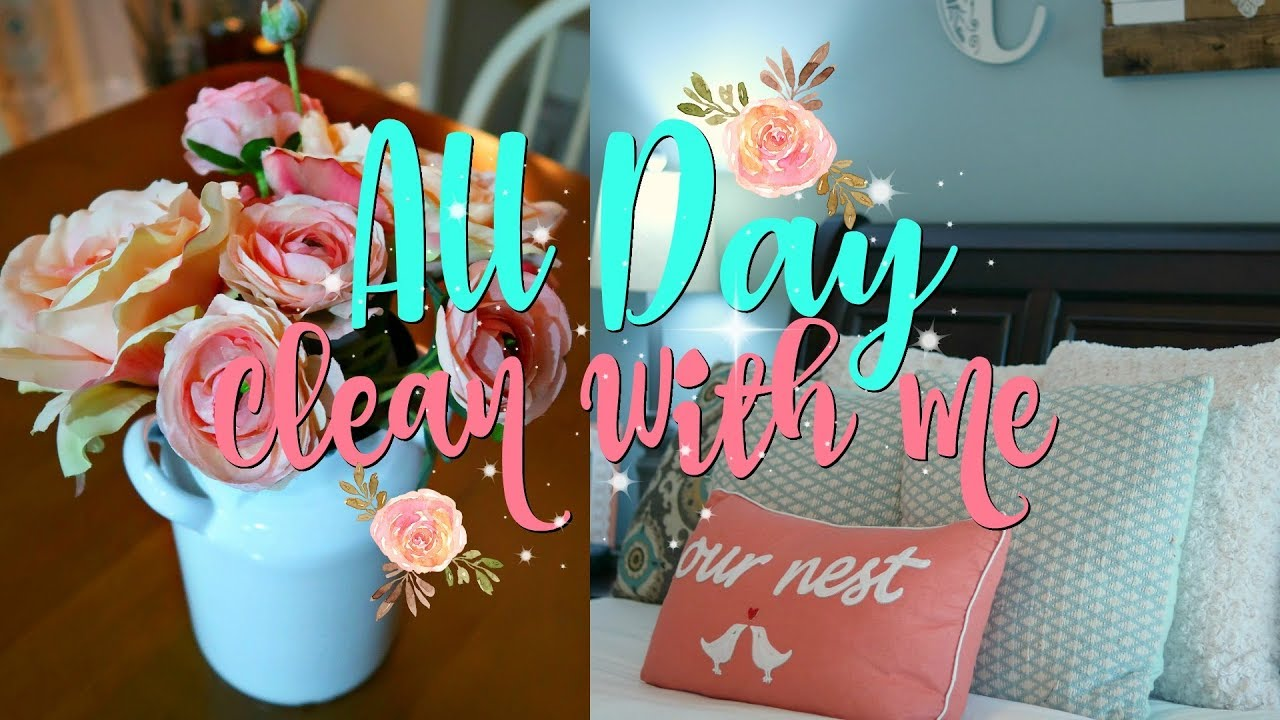 All Day Clean/Morning Cleaning Routine/Relaxing Nighttime Clean With Me/Watch Me Clean Wednesday ...