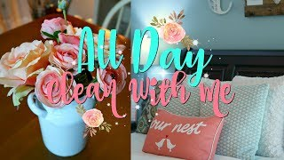 All Day Clean/Morning Cleaning Routine/Relaxing Nighttime Clean With Me/Watch Me Clean Wednesday