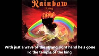 Rainbow - Temple Of The King Lyrics
