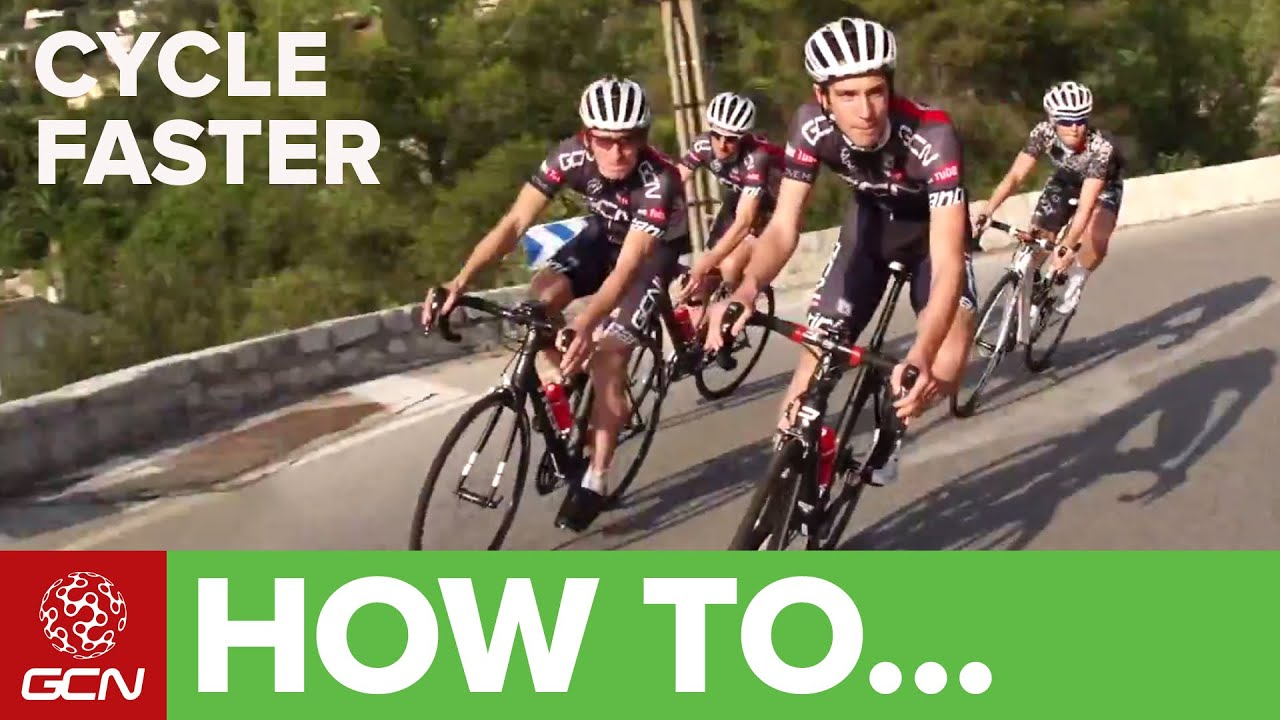 How To Cycle Faster - YouTube 8be94fc35