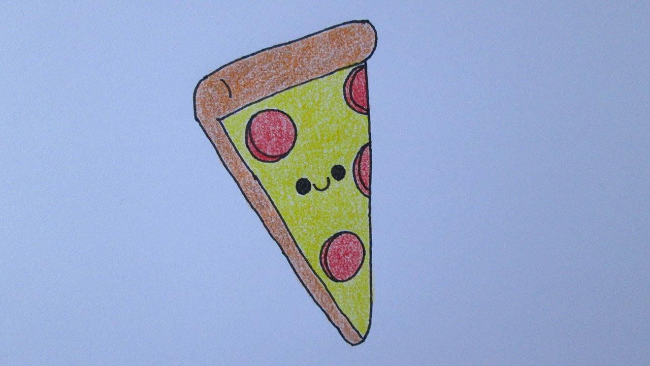 Como Desenhar Uma Fatia De Pizza Video Download Mp4 3gp Flv