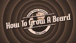 Senator Ted Cruz Teaches You How To Grow Your Beard