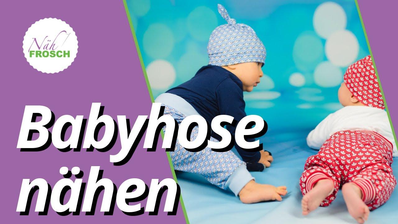 Babyhose nähen: Nähanleitung Babyhose RAS von NÄHFROSCH