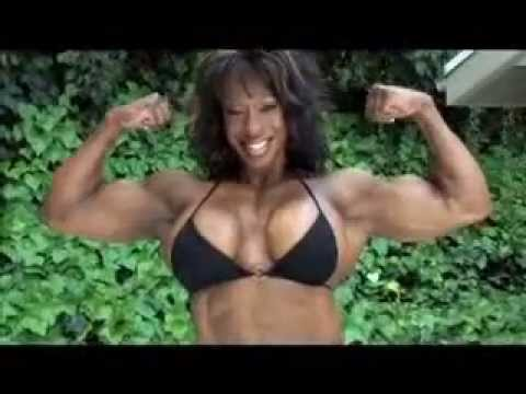 Share female body builder with big boob for