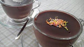 Çikolatalı Puding Nasıl Yapılır- Ev Yapımı Nefis Kakaolu Puding Tarifi- Ev Lezzetleri