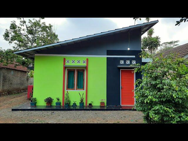 Desain Rumah Atap Miring Di Pojokan 3 X 6 Meter Dari Denah Sampai Jadi Bangunan Youtube