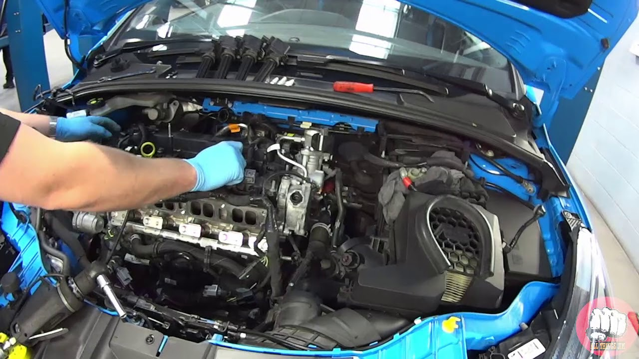 Focus Rs 2016 Head Gasket Removal Only Time Lapse Youtube