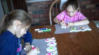 Morgan & Kaylie Easter Cookies 2012 Download