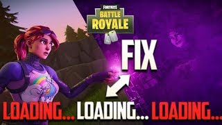 How To Fix Fortnite Loading Screen Freeze