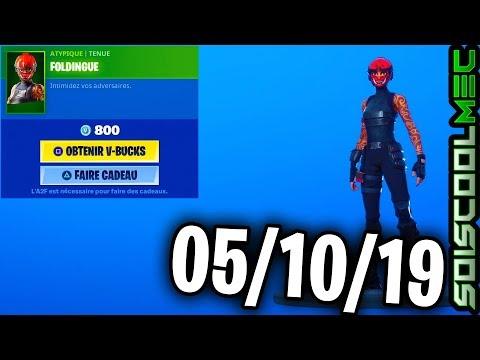 boutique-fortnite-5-octobre-2019,-nouveau-skins,-item-shop-october-5,-2019