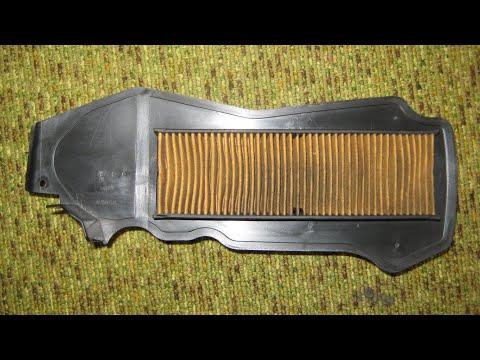 Замена фильтрующего элемента,Honda Dio AF-62/68,Honda AF-61/67 Today. Сделай сам, не хуже оригинала!