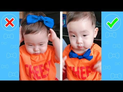 Try Not To Laugh Babies: TROUBLE MAKER and FAIL   TOP BABY FUNNY Soo Cute! #15
