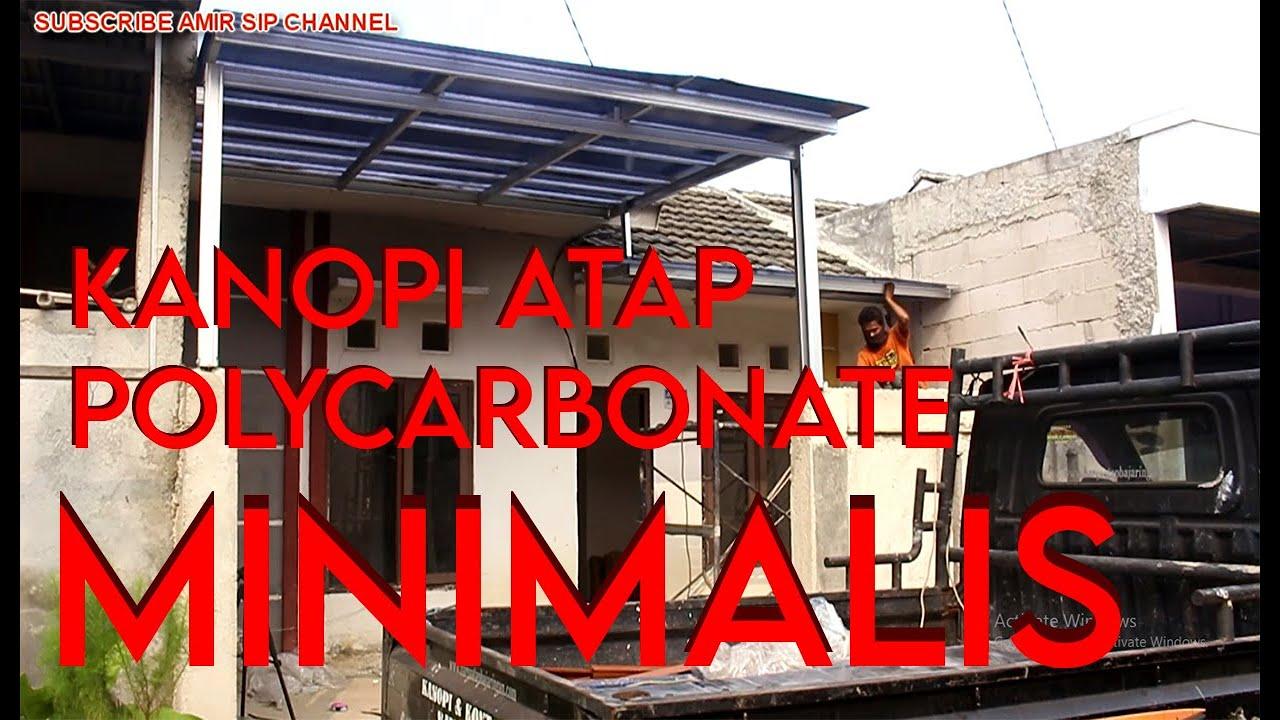 Download KANOPI ATAP POLYCARBONATE MINIMALIS