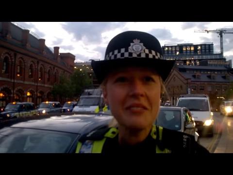 Unlawfully detained by PC 2688 Gearing under Section 43 Terrorism Act 2000