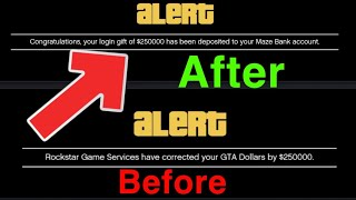 GTA 5 Online Rockstar Game Services have corrected your GTA Dollars by EASY FIX