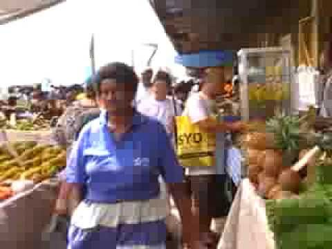 SUVA FIJI MARKET DAY-2014-PART 2-GREAT SIGHTS AND SOUNDS