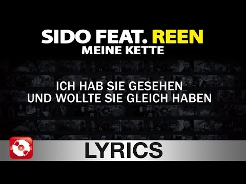 SIDO FEAT. REEN - MEINE KETTE - AGGROTV LYRICS KARAOKE (OFFICIAL VERSION)