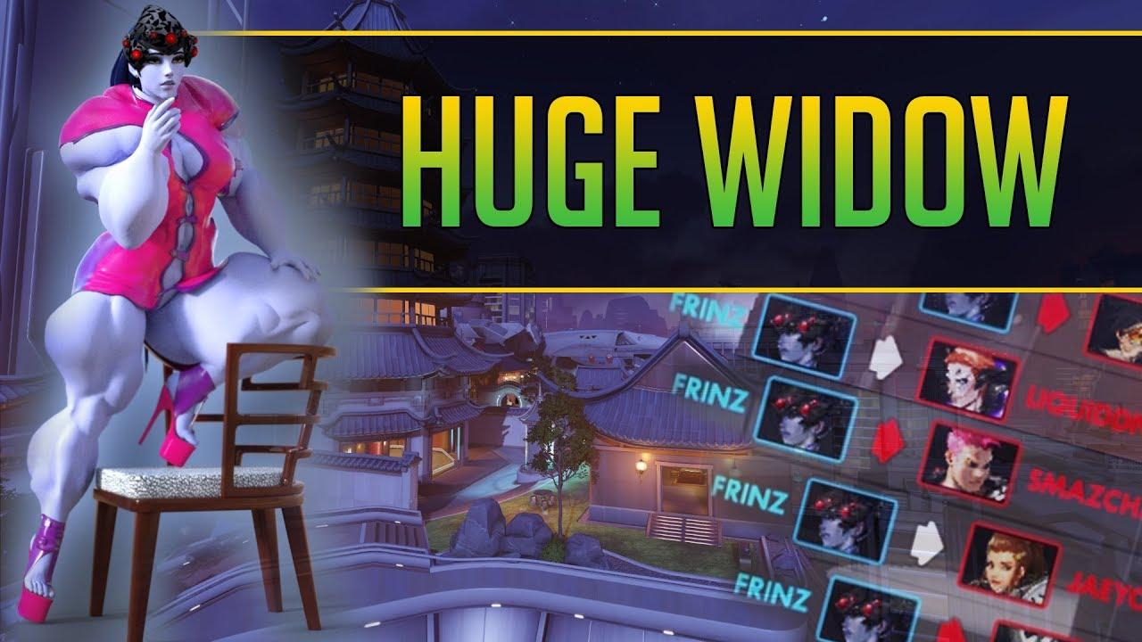 Widow Montage lovely | Overwatch Widowmaker gameplay