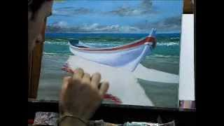 Oleo Sobre tela - Daniel Amaral (barco)