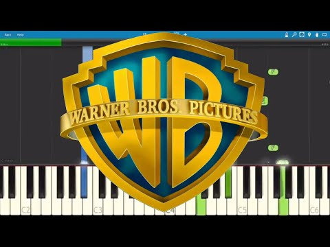 Warner Bros Pictures Theme - Piano Tutorial