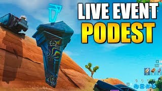 LOOT LAKE LIVE EVENT JETZT 😱 Runen Podest fliegt | Fortnite Live Deutsch