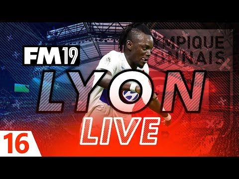 Football Manager 2019 | Lyon Live #16: Godly Youth Intake #FM19