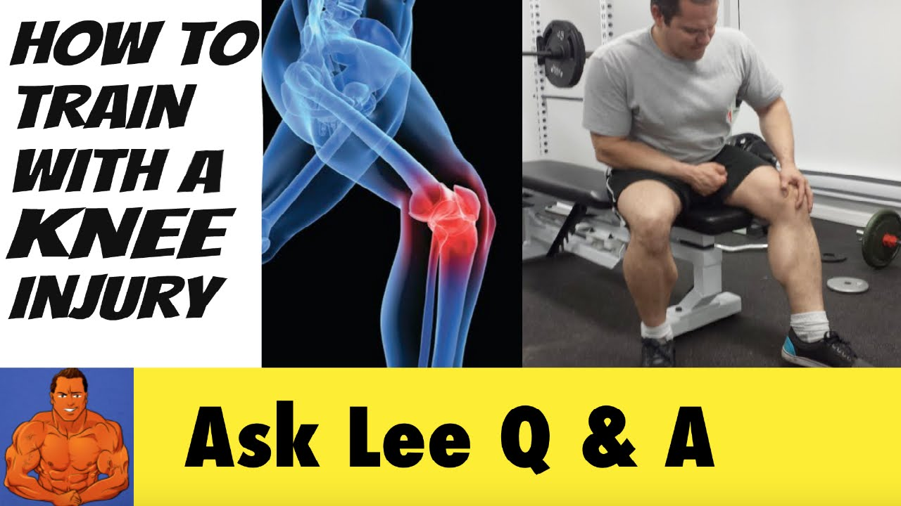 pics How to Work out With a Knee Injury