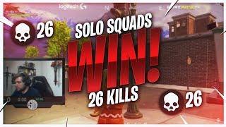 TSM Kraftyy - TAKING OUT TEAMS! 26 KILL SOLO SQUADS (Fortnite BR Full Match)