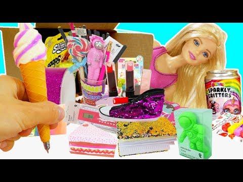 Material escolar 2019 | con Marinette y Barbie