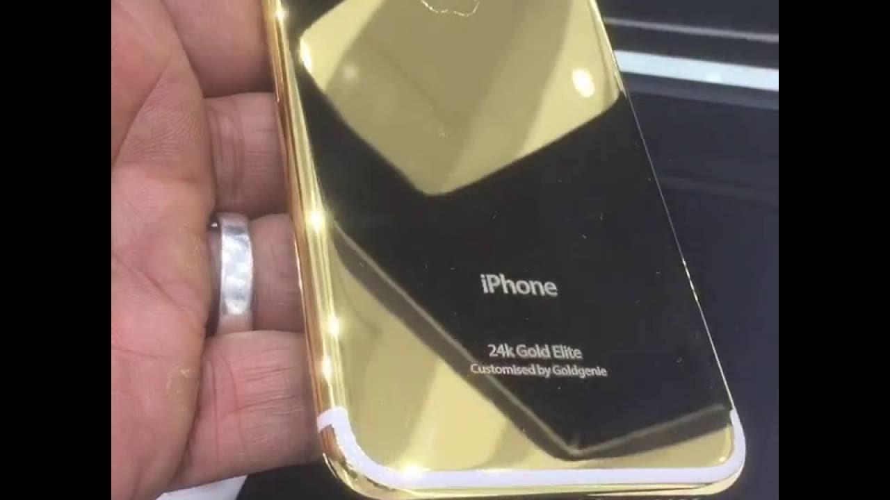 24k gold iphone 7 case