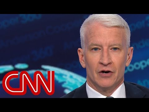 Anderson Cooper reveals Trump's evolving tone toward accusers