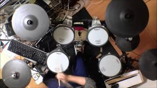 Repeat youtube video 【弱虫ペダル】【yowamushi pedal】【OP】-リクライム-【drum cover】【叩いてみた】