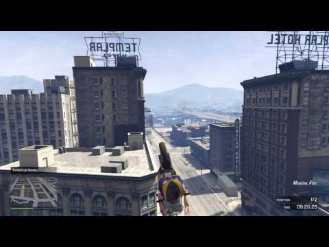 Epic air grab stunt