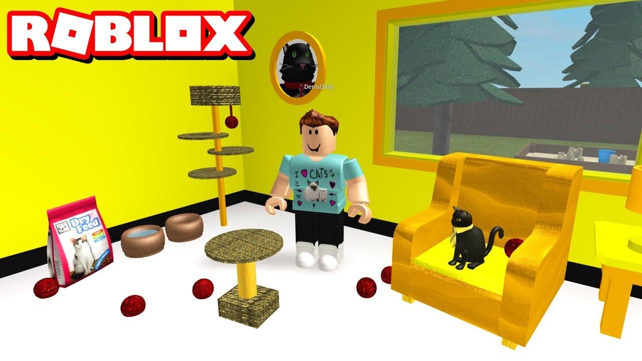Building Sir Meows A Lots Room Roblox Bloxburg - dennis daily roblox bloxberg