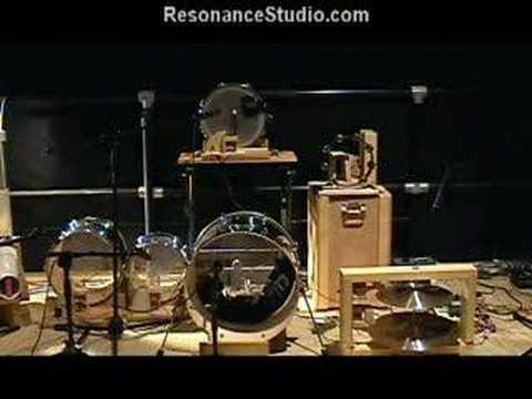 Robotic Drum Kit