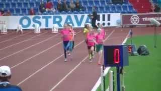 Zlatá tretra - běh děvčat na 200m - finále Čokoládové tretry